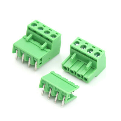 $3.77 • Buy 20pcs 5.08mm Pitch 4Pin Plug-in Screw PCB Terminal Block Connector F ZiTEUSJ_sMA