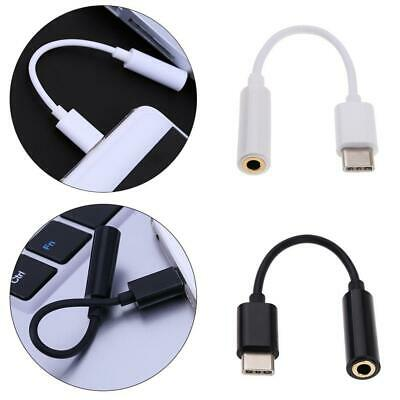 $0.90 • Buy 1x USB C To 3.5mm Headphone Jack Adapter AUX Cable Max For Le LeEco H8Q3 2 W6D9