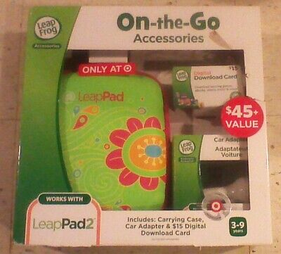 £16.73 • Buy LeapFrog LeapPad 2 Accessories On-the-go Bundle Flower Case