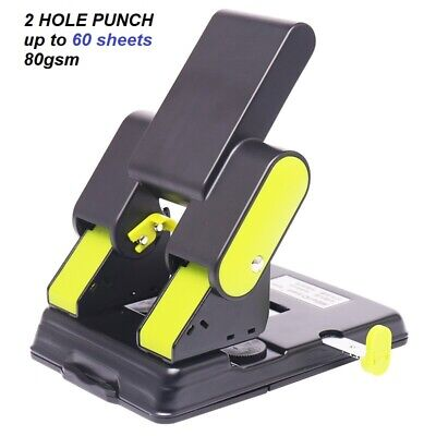 AU59 • Buy KW TRIO Metal Heavy Duty 2 Hole (6mm Hole) Punch Up To 60sheets 80gsm GREEN