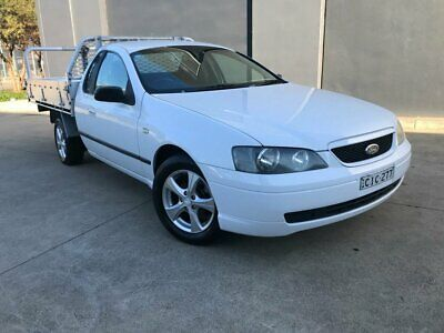 AU6990 • Buy 2003 Ford Falcon BA Tradesman XL Traytop Super Cab 2dr Spts Auto 4sp, 1345kg A