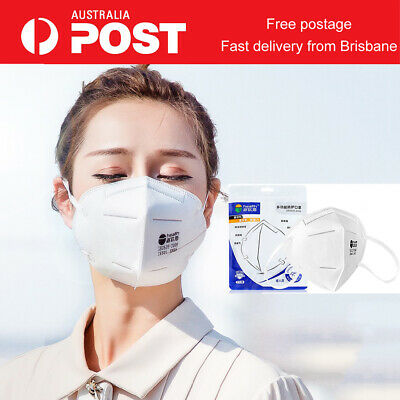 AU14.95 • Buy CE CERTIFIED N95 KN95 Face Mask Safty Protection Mouth Guard Anti Dust Flu