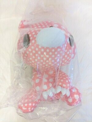 UK SELLER Chax GP Gloomy Bear Plush Crazy Dots Pink Plain 30cm Toreba Japan NEW • 29£