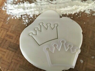 £3.89 • Buy Princess Crown Cookie Cutter / Fondant / Icing