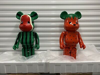 $30000 • Buy CLOT Strawberry & Watermelon 1000% Be@rbrick Bearbrick