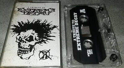 $4.99 • Buy A Tribute To Extreme Decay Cassette Tape Agathocles Terrorizer Magrudergrind