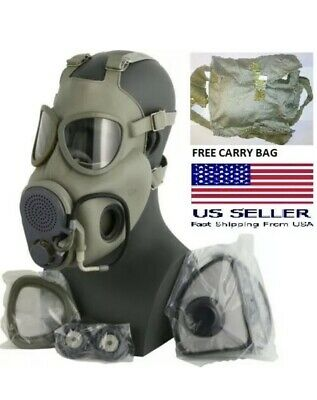 $49.99 • Buy Military Tactical Gas Mask Full Face Protection Respirator Czech Military M10