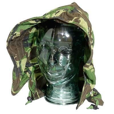 British Army Surplus DPM Camouflage Rip Stop Hood For Jacket Parka • 5.99£