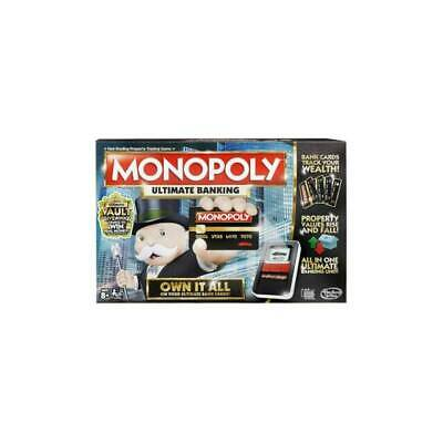$36 • Buy MONOPOLY Hasbro Ultimate Banking Board Game For Family And Kids