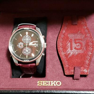 $ CDN1362.43 • Buy SEIKO X Monster Hunter 15th Anniversary Limited Watch W/Tracking From JPN. M1199