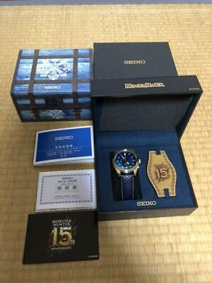 $ CDN1803.59 • Buy SEIKO X Monster Hunter 15th Anniversary Limited Watch Jin Ogre Model F/S (M1203)
