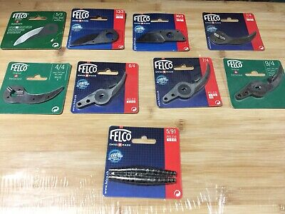 FELCO REPLACEMENT BLADE / 8 Different Size-Brand New • 13.74£