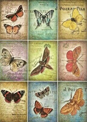 £1.89 • Buy Rice Paper For Decoupage Scrapbook Crafting Butterfly's 75