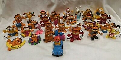 Vintage Garfield Figures 70s 80s Bully Lot 3 • 6.99£