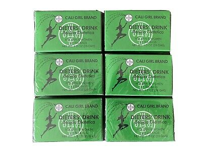 £10.62 • Buy (6boxes) Cali Girl Brand Dieters Drink Tea For Men And Women 72 Teabags Total