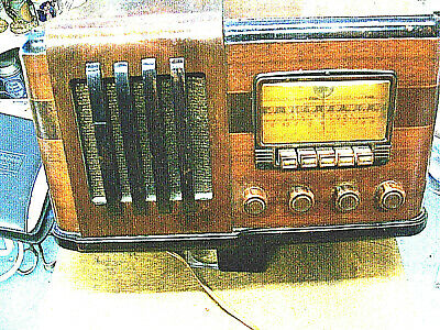 $ CDN247.40 • Buy  Vintage Radio Silvertone Model 6424 - GREAT CABINET & WORKING COND.