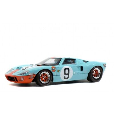 SOLIDO Ford GT40 Mk1 1/18 Die Cast Car Blue S1803001     • 54.99£