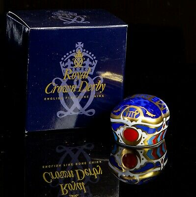 Royal Crown Derby -millennium Bug- Animal Paperweight Figure Model Gold Stopper • 30£