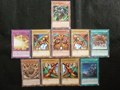 £14.80 • Buy Yu-gi-oh Set Of 10 Ldk2 Exodia The Forbidden One Cards Mint