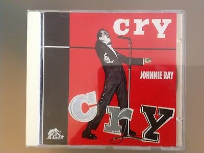 Johnnie Ray Cd - Cry - Complete With 24 Page Booklet - Very Good Condition • 4.99£