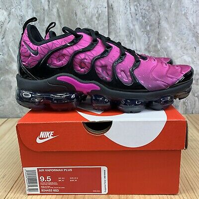 $159.99 • Buy Nike Air Vapormax Plus Size 9.5 Mens Active Fuchsia Black Pink Casual Shoes