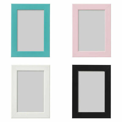 Ikea Fiskbo Photo Frame A4 Picture Pink Blue Black White A4 Children Baby Frame  • 3.49£
