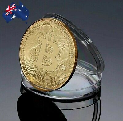 AU10 • Buy Mint Uncirculated Bitcoin Collectible Gift Coin Art Collection 2020 Gold Silver