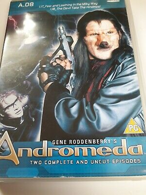 Andromeda.dvd, 2 Complete And Uncut Episodes, Very Good Condition • 4£