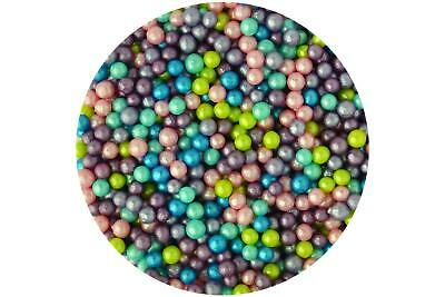 $7.51 • Buy Sugar 4mm Pearls : Party Mix 80g