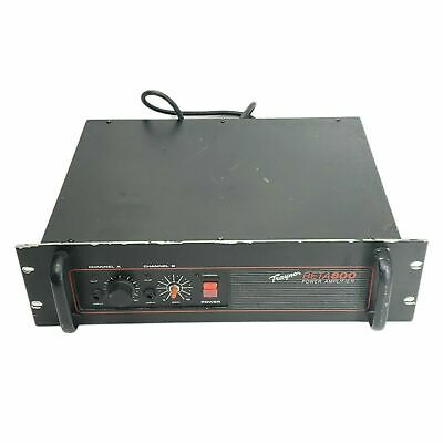 $ CDN112.78 • Buy Traynor Beta 800 Vintage Power Amplifier Untested Rack Mounted AS-IS