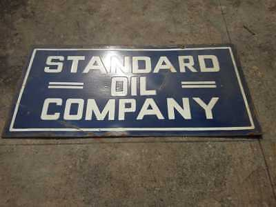 $ CDN388.76 • Buy Porcelain STANDARD OIL COMPANY Sign SIZE 17.5  X 36  INCHES 2 SIDED Pre-Owned
