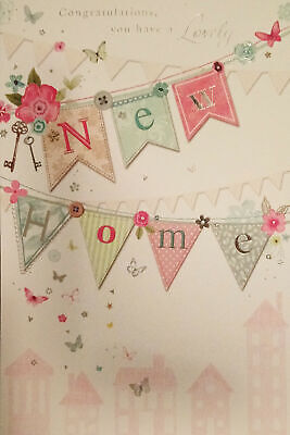New Home Card Male Brother Friend Son Female Sister Daughter • 1.89£