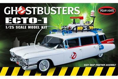 Polar Lights Ghostbusters Ecto-1 914 1/25 Model Kit Snap Together • 20.67£