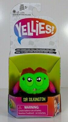 $12 • Buy Yellies! Sir Silkington Voice Activated Moving Toy Spider Hasbro