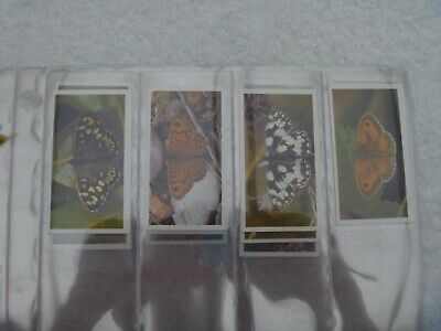 Grandee Cigarette Cards. BRITISH BUTTERFLIES - Set Of 32 In Sleeves • 3.50£