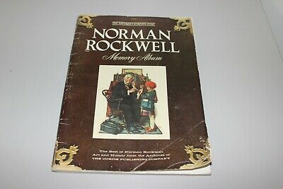 $ CDN10.53 • Buy VTG Coffee Table Book AMERICA Norman Rockwell Memory Album USA ADS