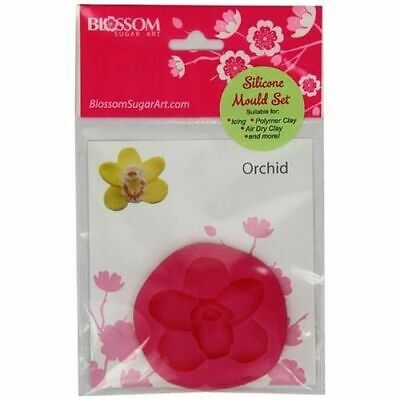 £7.50 • Buy Blossom Sugar Art Orchid Silicone Mould
