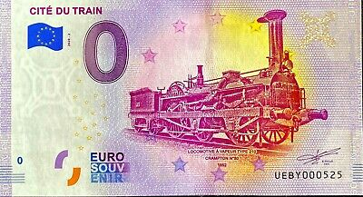 Ticket 0 Euro & Of Train France 2020 Number Palindrome 525 • 5.88£