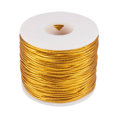 $ CDN19.82 • Buy 50m/roll 2mm Round Elastic Cord With Polyester Outside And Rubber Inside