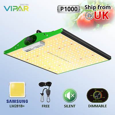 VIPARSPECTRA P1000 LED Grow Lights For Indoor Plants Veg Flower Replace HPS HID • 154.99£