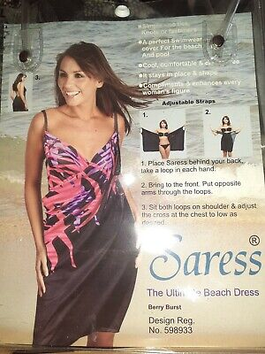 BNWT Saress Beach Dress-size L (14/16) • 6£