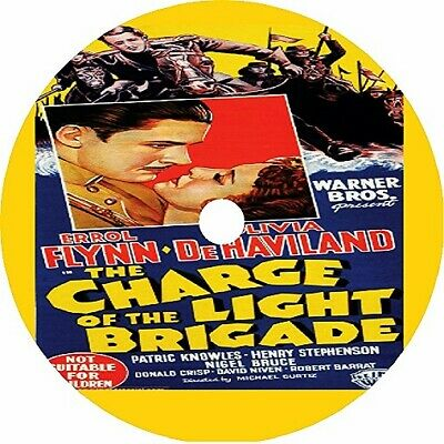 The Charge Of The Light Brigade - Errol Flynn Olivia De Havilland - V Rare 1936 • 2.75£