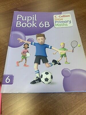 Year 6 Maths Book Home Learning Collins New Primary Maths: Pupil Book 6B • 1.49£