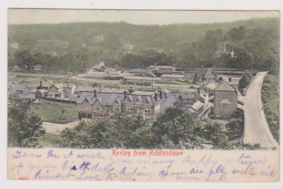 Kenley And Railway Station From Riddlesdown - Postcard - Surrey - Used 1904 • 4.99£