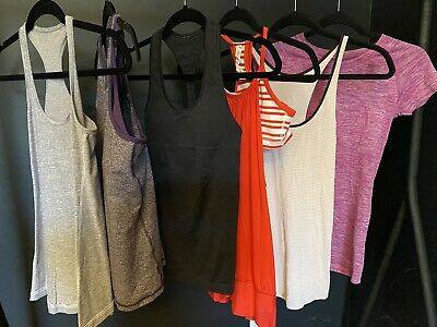 $ CDN100 • Buy Lululemon Lot Of 6 Racerback Run Swiftly Tank Top  Size 4