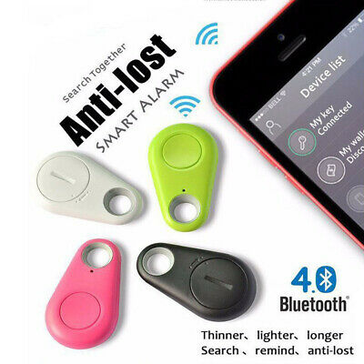Bluetooth Key Tracker Tracer Child Finder Pet GPS Locator Remote Alarm Alert  UK • 2.59£