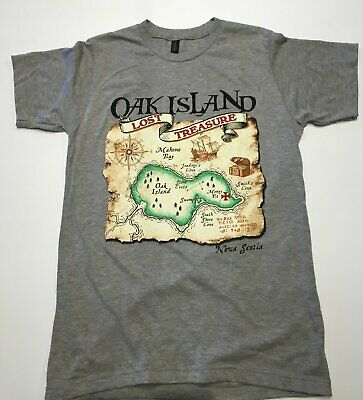 $ CDN26.23 • Buy Oak Island Treasure T Shirt Funny Cotton Tee Vintage Gift For Men Women