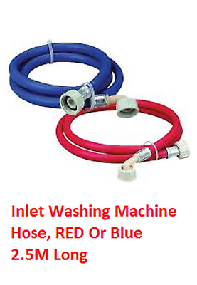 WASHING MACHINE DISHWASHER Inlet Pipe Water Feed FILL HOSE Hot Or Cold Fill • 2.99£