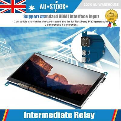 AU61.99 • Buy 7 Inch HDMI LCD Display Monitor 1024X600 Ultra HD Touch Screen For Raspberry Pi