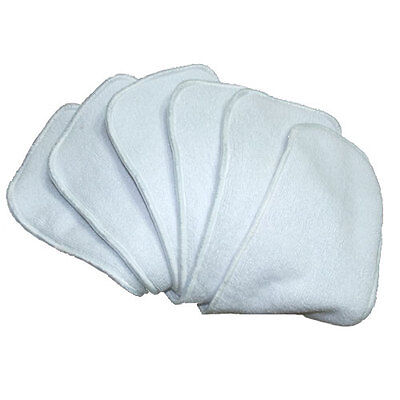 AU15 • Buy 5 Microfibre Inserts Liners For Baby Cloth Nappies - Absorbent & Breathable
